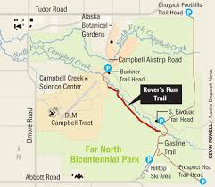 Iditarod Map Avoid Campbell Creek Trails In Far North Bicentennial Park Until