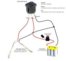 led tail light wiring diagram or view strips bar install lamp