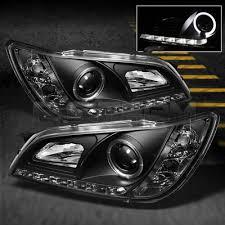 2003 lexus is300 headlights lexus is300 2001 2005 black halo projector hid headlights led drl