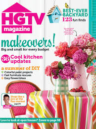 hgtv magazine may interior design styles and color schemes