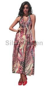 maxi kjole mix maxi kjole