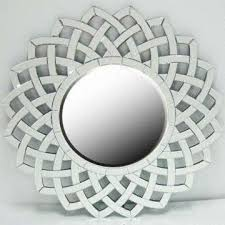 Decorative Round Wall Mirror With Smooth Polished Edge Global