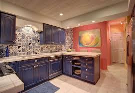 Mediterranean Kitchen Tiles - mediterranean kitchen with undermount sink u0026 tile backsplash in