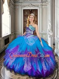 baby blue quinceanera dresses 2016 baby blue and purple simple quinceanera dresses with beading