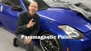 the story of paramagnetic color changing paint youtube