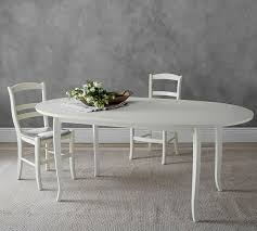 chloe extending oval dining table pottery barn home decorating