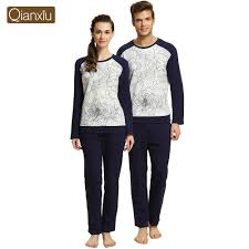 brand sales matching christmas pajamas for couples thicken fur