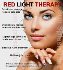 red light therapy skin benefits redlight