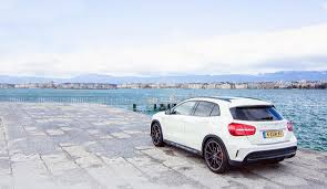 mercedes 45 amg white road trip to geneva with the mercedes gla 45 amg mercedes