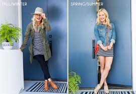 transitioning your fashion for the seasons emily henderson