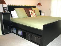 king size bed frame with drawers canada storage cal diy