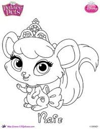 pets coloring page free palace pets coloring page of thistleblossom skgaleana