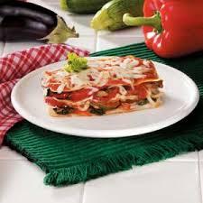 roasted vegetable lasagna recipe taste of home