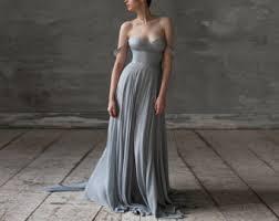 Chiffon Wedding Dresses Chiffon Wedding Gown Etsy