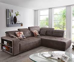 polstergarnitur orlando eckcouch braun antik sofa u form federkern carprola for