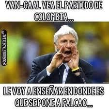 Colombia Meme - van gaal protagoniza memes tras los goles de falcao con colombia