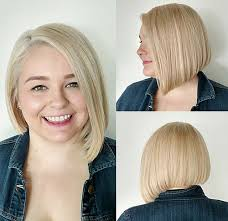 graduated bobs for long fat face thick hairgirls 30 stylish and sassy bobs for round faces