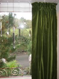 Vintage Green Curtains Interesting Design Velvet Curtains Ideas Decorating Kopyok