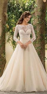 christmas wedding dresses 24 chic sleeved wedding dresses sleeved wedding