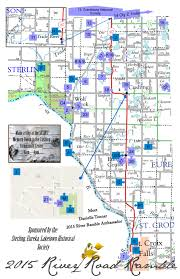 St Croix Map Tenth Annual St Croix River Road Ramble Encourages Exploring