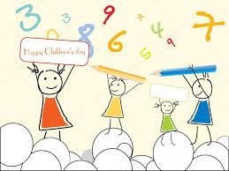 vector wallpaper for children u0027s day u2014 stock vector