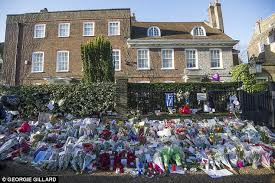george michael house year old george michael tributes spark problems in london daily