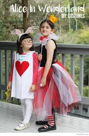 Cheap Halloween Costume Ideas For Kids Bondville Cheap And Easy Diy Alice In Wonderland Costumes For
