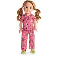 enchanted garden pjs for dolls welliewishers american