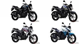 yamaha fz s version 2 0 fi four new exciting colours added