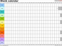 excel calendar year u printable editable weekly uk free templates