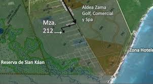 Tulum Map Tulum Lots Available In Region 15 Close To Aldea Zama Virgin