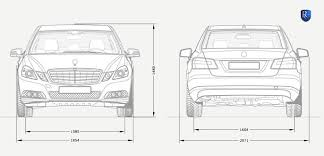 mercedes length the remetz mercedes e class sixdoor