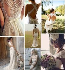 fashion infatuation romantic and old fashioned lace wedding dresses