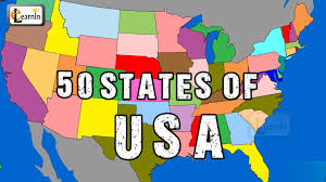 Usa Map By State by 50 States States Song Fifty States Of Usa Song States On Us