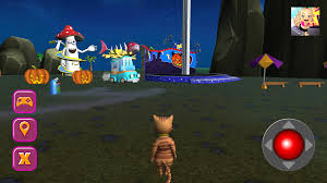 halloween cat theme park 3d android apps on google play