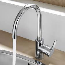 Roca Kitchen Sinks Roca L20 Chrome Kitchen Sink Mixer With Swivel Spout 5a8409c00