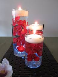Floating Candle Centerpieces by Red Orchid Floating Candle Wedding Centerpiece Led Light