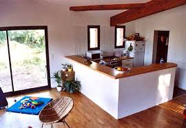 cuisine ouverte avec bar sur salon cuisine americaine avec bar 12 mod232le de grande cuisine photo