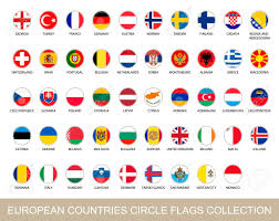 European Countries Flag European Countries Circle Flags Collection Circle Flags With