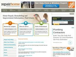 repair home the web directory