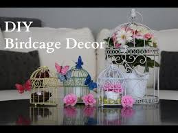 bird cage decoration diy birdcage decor