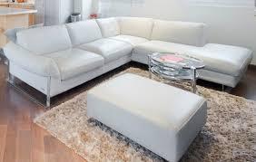 canapé cuir blanc roche bobois canapé d angle pouf meridienne roche bobois cuir gris clair