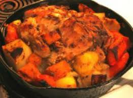 perfect roasted chicken and vegetables recipe whats cooking america