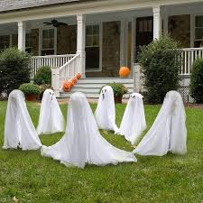 outdoor decorating ideas 40 scary ghost decorations ideas outdoor