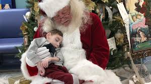 boy 2 dies after unforgettable visit from santa while in hospi