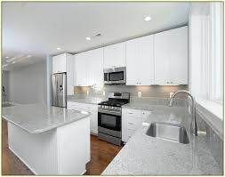 light granite countertops with white cabinets white grey granite sink mcnary perfect kitchen with white grey