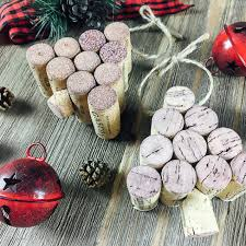 diy wine cork tree ornament