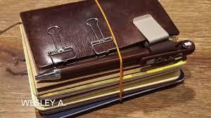 Midori traveler 39 s notebook compilation