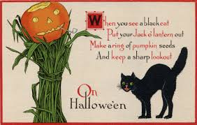 free image spooky black cat card amybarickman comamybarickman com