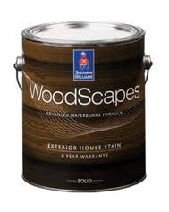 woodscapes exterior acrylic solid color house stain sherwin